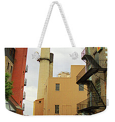 Rochester, Ny - Behind The Bar And Factory 2005 Weekender Tote Bag by Frank Romeo