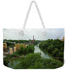 Rochester, Ny - Genesee River 2005 Weekender Tote Bag by Frank Romeo