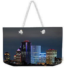 Rochester Ny Twilight Weekender Tote Bag