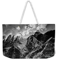 Rock #9542 Bw Version Weekender Tote Bag