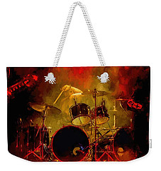 Rock And Roll Drum Solo Weekender Tote Bag