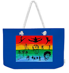 Rock And Roll Weekender Tote Bag