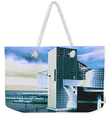 Rock And Roll Hall Of Fame - Electric Blue Weekender Tote Bag