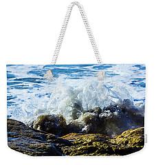 Wave Meets Rock Weekender Tote Bag