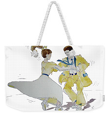 Rock Around The Clock Weekender Tote Bag