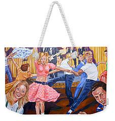 Rock Around With Ollie Vee Weekender Tote Bag