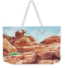 Rock Away Weekender Tote Bag