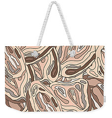 Rock Blob Pattern Weekender Tote Bag