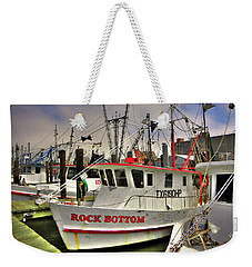 Weekender Tote Bag featuring the photograph Rock Bottom by Savannah Gibbs