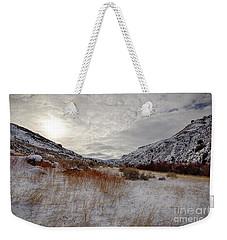 Rock Bound Sun Weekender Tote Bag