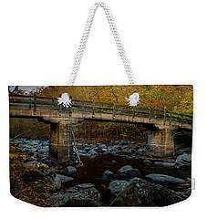 Rock Creek Park Bridge Weekender Tote Bag