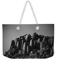 Monument To Glacier Weekender Tote Bag