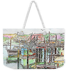 Rock Harbor, Cape Cod, Massachusetts Weekender Tote Bag