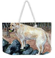 Rock Hopper Weekender Tote Bag by Molly Poole
