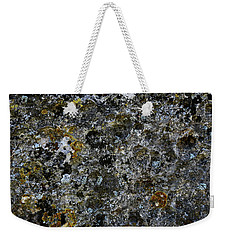 Rock Lichen Surface Weekender Tote Bag