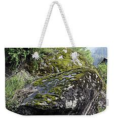 Rock Moss Weekender Tote Bag