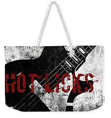 Rock N Roll Guitar Weekender Tote Bag