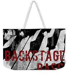 Rock N Roll Piano Weekender Tote Bag