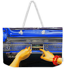 Rock N Roll Radio Weekender Tote Bag