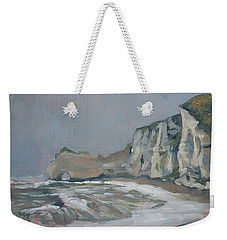 Rock Of Amont Etretat After The Rain Weekender Tote Bag