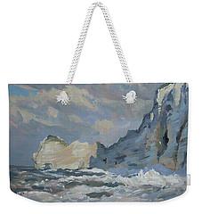 Rock Of Amont Etretat Weekender Tote Bag