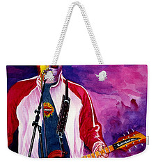 Rock On Tom Weekender Tote Bag by Nancy Cupp