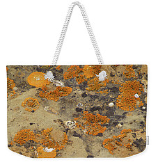 Rock Pattern Weekender Tote Bag