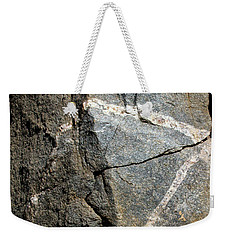 Rock Patterns-signed-#9753 Weekender Tote Bag
