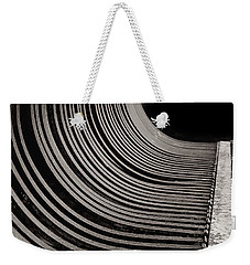 Weekender Tote Bag featuring the photograph Rock Rake by Susan Capuano