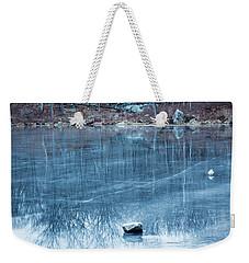 Rock Solid Frozen Weekender Tote Bag