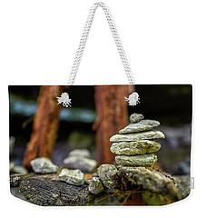 Rock Stack Weekender Tote Bag