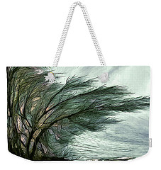 Weekender Tote Bag featuring the photograph Rock Tunnel by Pennie  McCracken