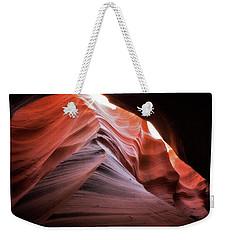 Rock Waves Weekender Tote Bag by Nicki Frates
