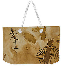 Rock Work Weekender Tote Bag