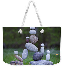 Rock Yoga Weekender Tote Bag
