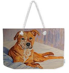 Rockaroni Weekender Tote Bag by Lisa Rose Musselwhite