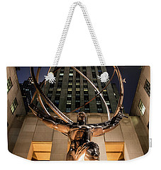Rockefeller Center Nyc Weekender Tote Bag