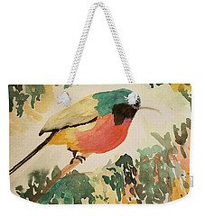 Rockefeller's Sunbird Weekender Tote Bag by Maria Urso