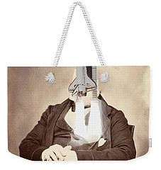 Rocket Away Your Gentleman Weekender Tote Bag by Keshava Shukla