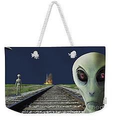 Rocket Launch Weekender Tote Bag
