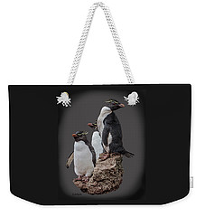 Rockhopper Penguins Weekender Tote Bag
