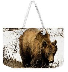Rockies Grizzly Weekender Tote Bag