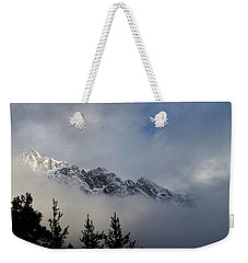 Rockies In The Clouds. Weekender Tote Bag