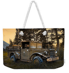 Rockies Transport Weekender Tote Bag by Wayne Sherriff