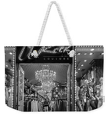 Weekender Tote Bag featuring the photograph Rockin' Couture by Melinda Ledsome