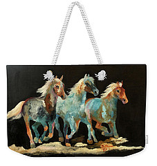 Rockin' Horses Weekender Tote Bag by Barbie Batson