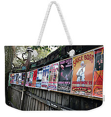Rockin Smoke House Weekender Tote Bag by Steve Sperry