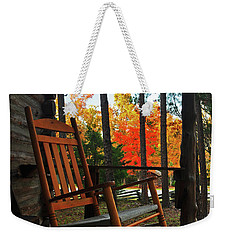 Rocking In Fall Weekender Tote Bag