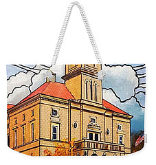 Rockingham County Courthouse Weekender Tote Bag by Jim Harris