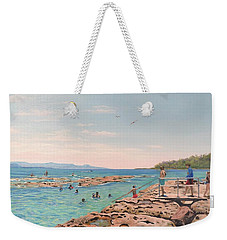 Rockpool At Currarong Weekender Tote Bag
